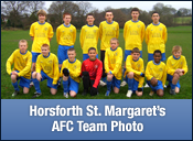 Horsforth St. Margarets Team Photo